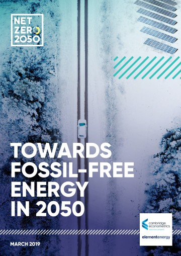 Towards Fossil Free Energy in 2050