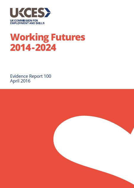 Working futures employment and skills projections