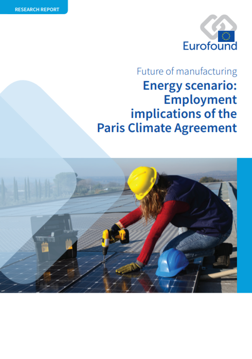 Energy scenario: employment implications of the Paris Climate Agreement