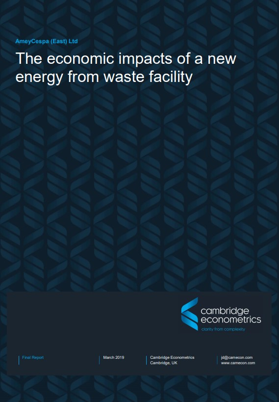 Economic impacts of an energy from waste facility