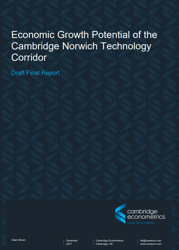 Cambridge-Norwich Technology Corridor