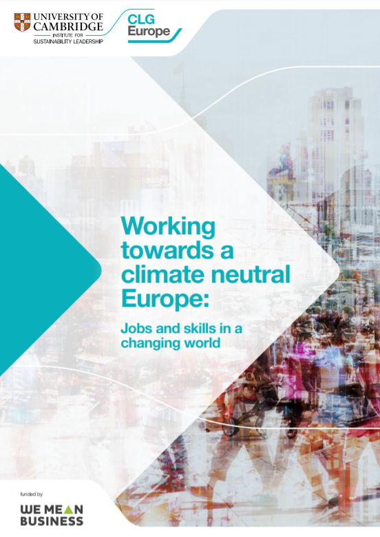 Working towards a climate neutral Europe: jobs and skills in a changing world