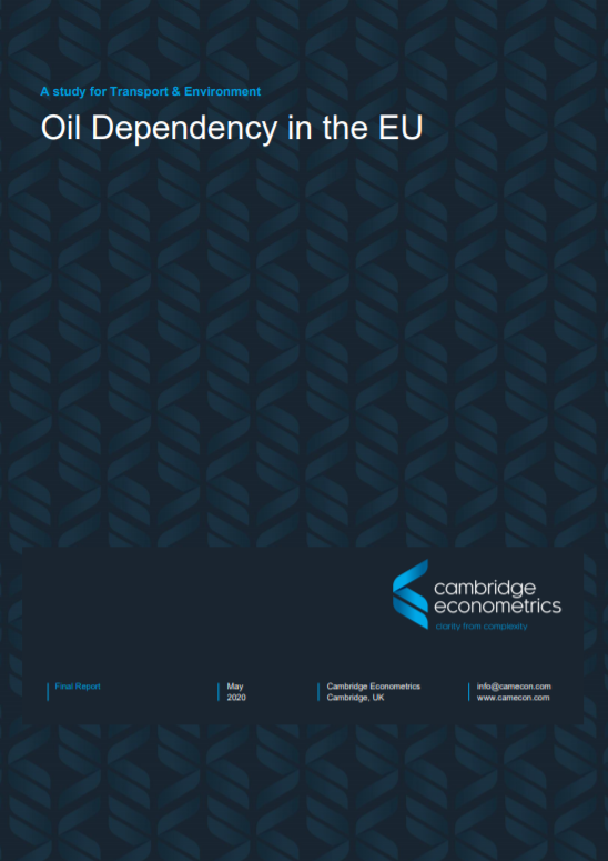 Oil dependency in the EU
