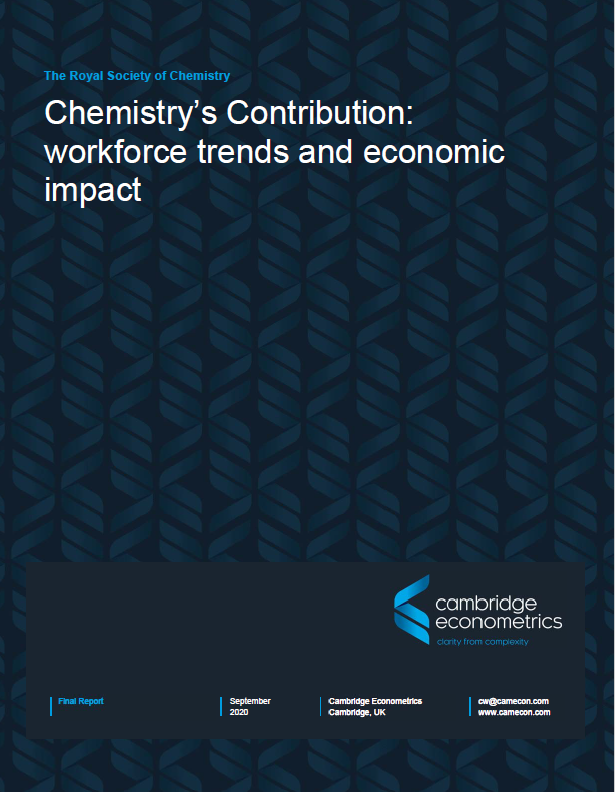 Chemistry's Contribution: workforce trends and economic impact