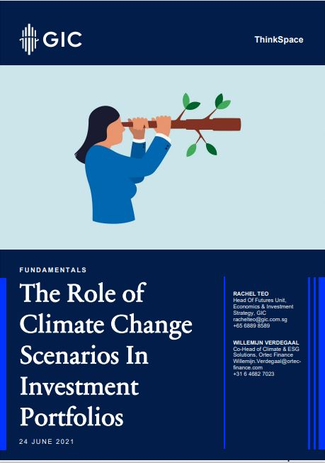 The Role of Climate Change Scenarios In Investment Portfolios